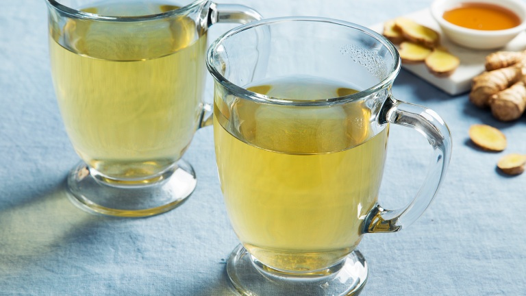 Mẹo giảm cơn đau dạ dày tức thời bằng trà gừng