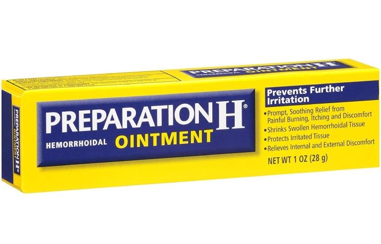 Thuốc bôi làm teo búi trĩ Preparation H Ointment