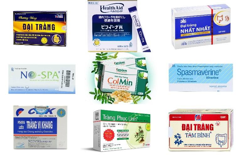 Top 10 thuốc đặc trị viêm đại tràng phổ biến hiện nay