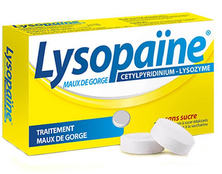 thuốc ngậm đau họng