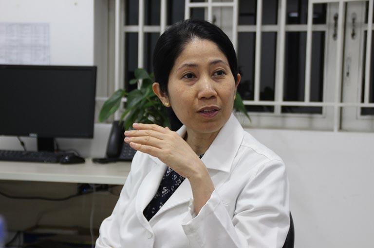 Bác sĩ Vương Thị Ngọc Lan chữa hiếm muộn giỏi ở TPHCM