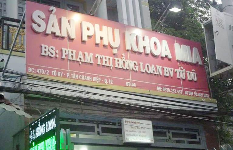 Phòng khám phụ khoa Bác sĩ Phạm Thị Hồng Loan