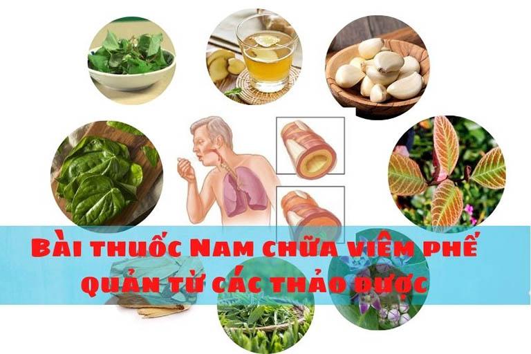 bài thuốc Nam chữa viêm phế quản