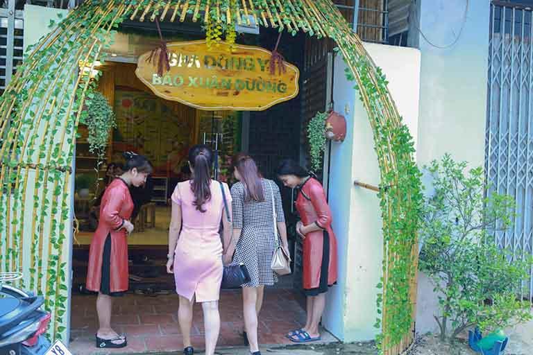 spa gội đầu thảo dược trị liệu tại Hà Nội