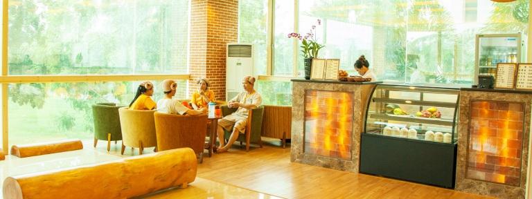Spa xông hơi tại TPHCM nổi tiếng Golden Lotus Healing Spa World