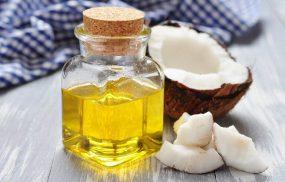 chữa vảy nến bằng dầu dừa