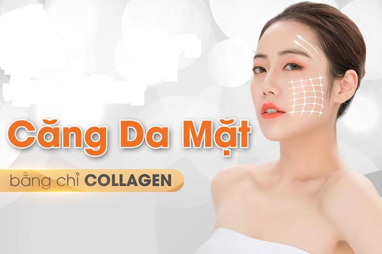 địa chỉ căng chỉ Collagen tại Hà Nội