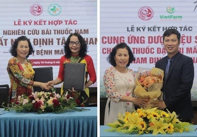 Nhất Nam Y Viện kí kết hợp tác cùng nhiều đơn vị lớn, đảm bảo chất lượng và hiệu quả của bài thuốc Nhất Nam Định Tâm Khang