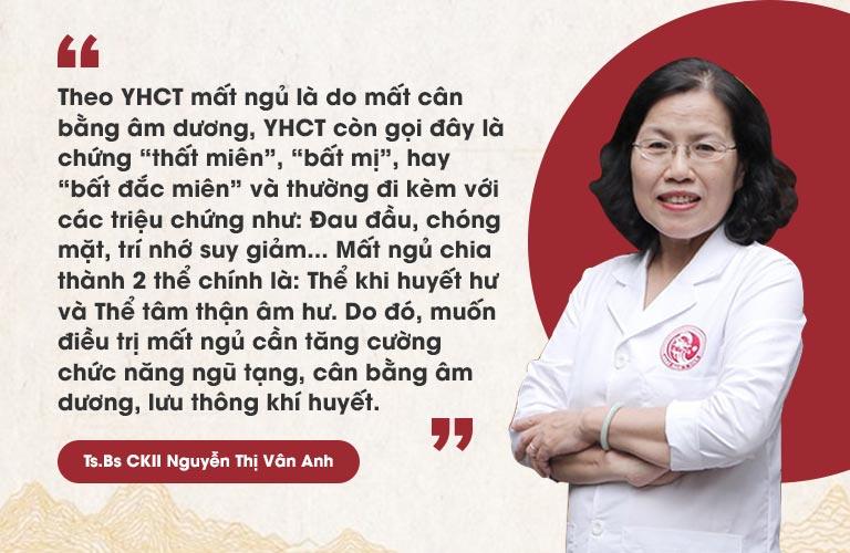 Chia sẻ của Tiến sĩ, Bác sĩ Nguyễn Thị Vân Anh về bài thuốc Nhất Nam Định Tâm Khang