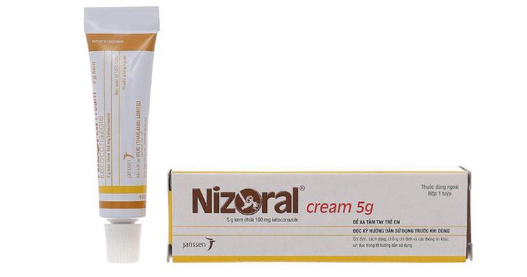 Thuốc trị nấm da vùng kín Nizoral có thành phần chính là ketoconazole có thể dùng được cho cả nam và nữ
