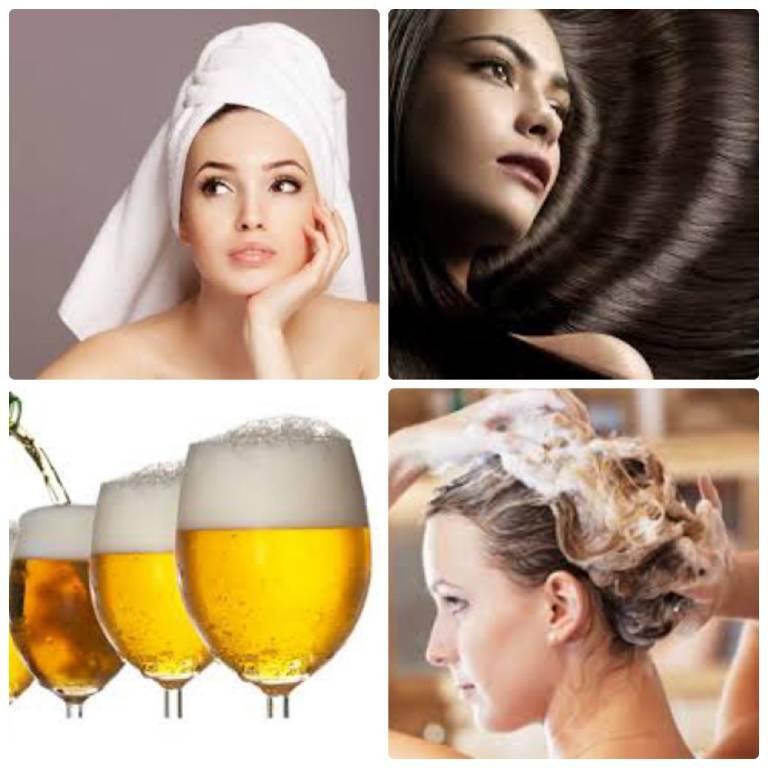 Ủ tóc với bia không chỉ giúp trị nấm mà còn giúp giảm hư tổn nuôi dưỡng tóc chắc khỏe