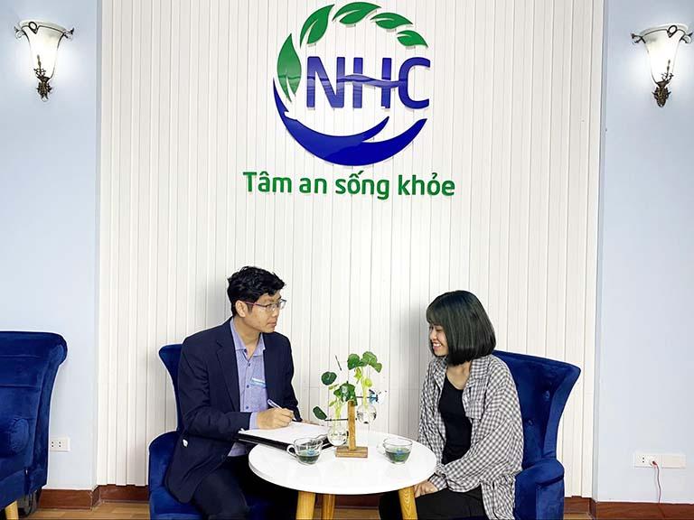 điều trị trầm cảm tại NHC