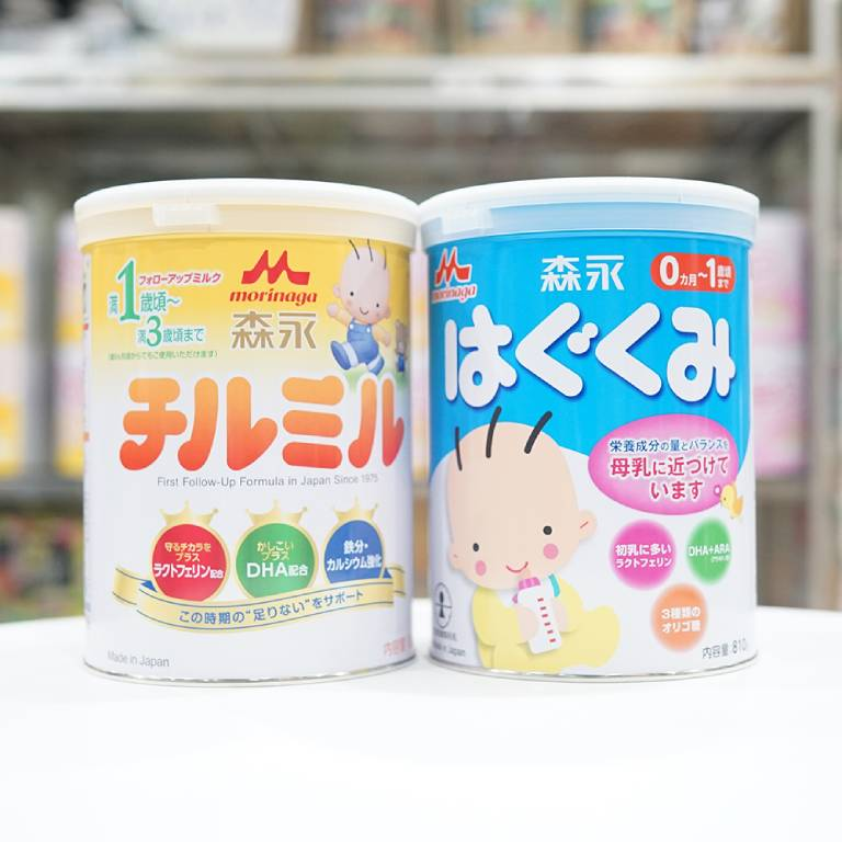 """Morinaga được mệnh danh là """"sữa rau"""" có thể hỗ trợ tiêu hoá, giúp cân nặng và chiều cao của bé tăng trưởng đều đặn mà không gây táo bón"""