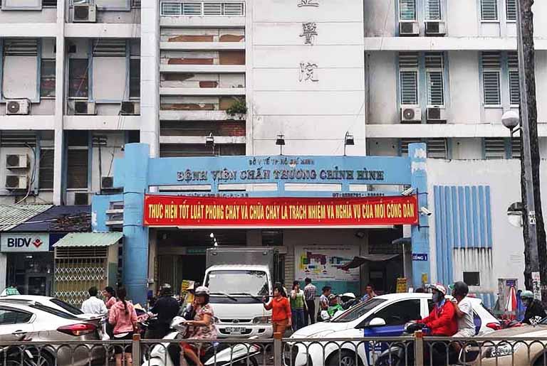 Bệnh viện Chấn thương Chỉnh hình TP HCM là địa chỉ khám chữa trật khớp uy tín