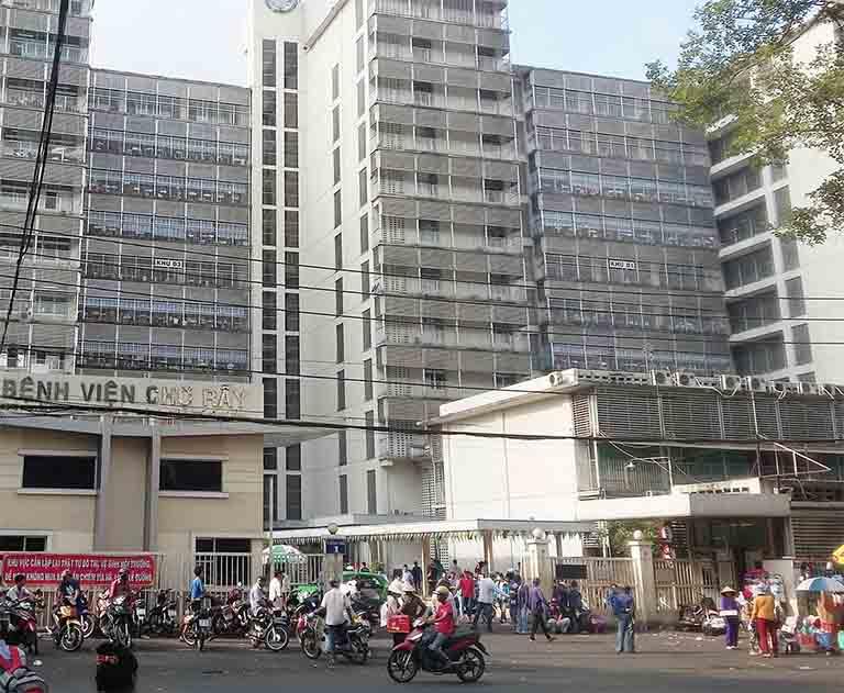 Bệnh viện Chợ Rẫy là địa chỉ khám chữa trật khớp uy tín tại TPHCM