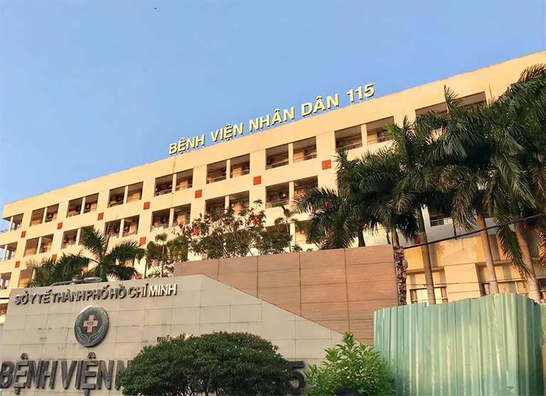 Bệnh viện Nhân dân 115 là địa chỉ chữa trật khớp uy tín