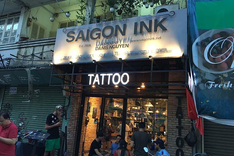 tiệm xăm hình đẹp ở Sài Gòn