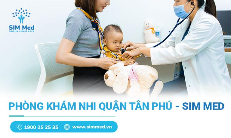 phòng khám nhi uy tín quận Tân Phú