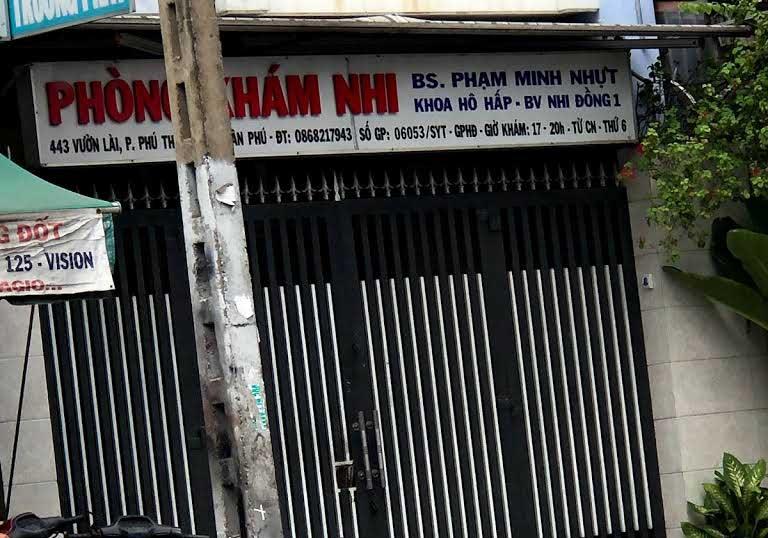 phòng khám nhi tốt ở quận Tân Phú