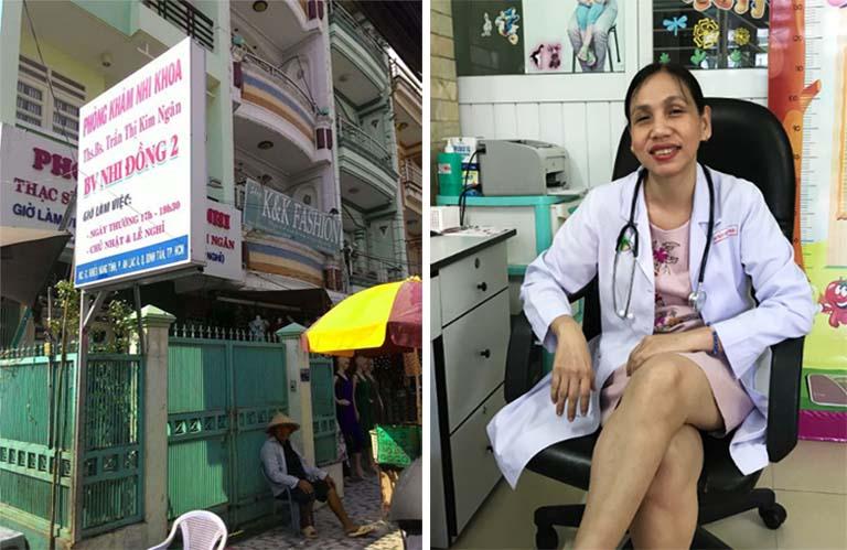 Phòng khám Nhi khoa của bác sĩ Trần Thị Kim Ngân ở quận Bình Tân