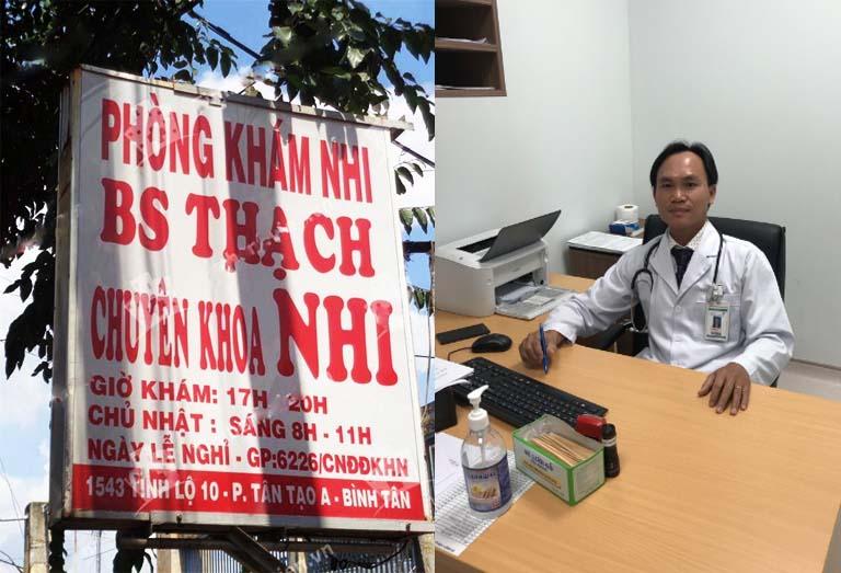 Phòng khám Nhi của bác sĩ Phạm Ngọc Thạch ở quận Bình Tân TPHCM