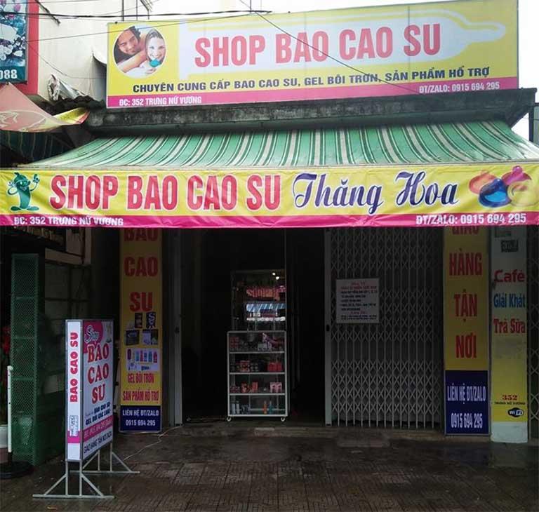Shop bao cao su Thăng Hoa