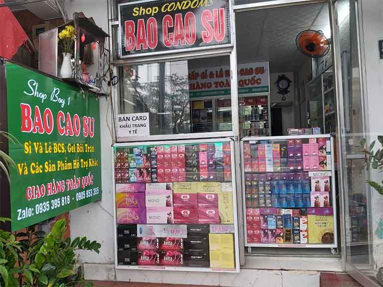 Shop Bao Cao Su Boy chuyên bán sản phẩm chất lượng ở Đà Nẵng