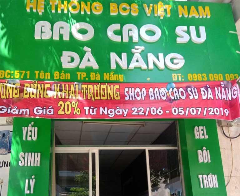 Shop chuyên bán bao cao su uy tín ở Đà Nẵng