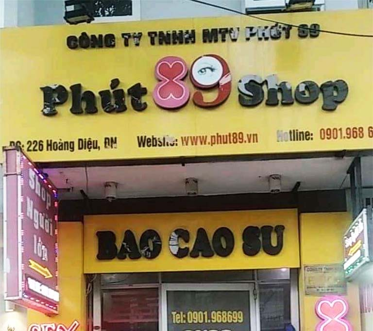 Shop Phút 89 - Địa chỉ bán bao cao su uy tín ở Đà Nẵng