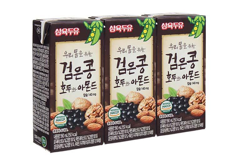 Sữa óc chó hạnh nhân Hàn Quốc - Sản phẩm người bị tiểu đường dùng được