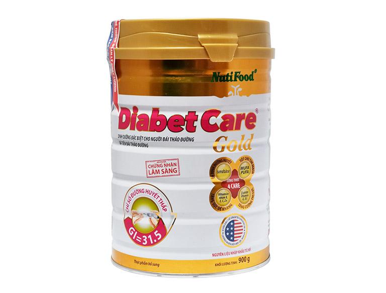 Nutri Diabet Care của hãng Nutifood là loại sữa người tiểu đường dùng được