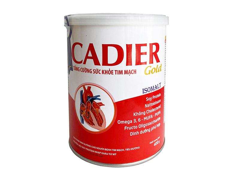 Sữa Cadier Gold dành cho người bị tiểu đường