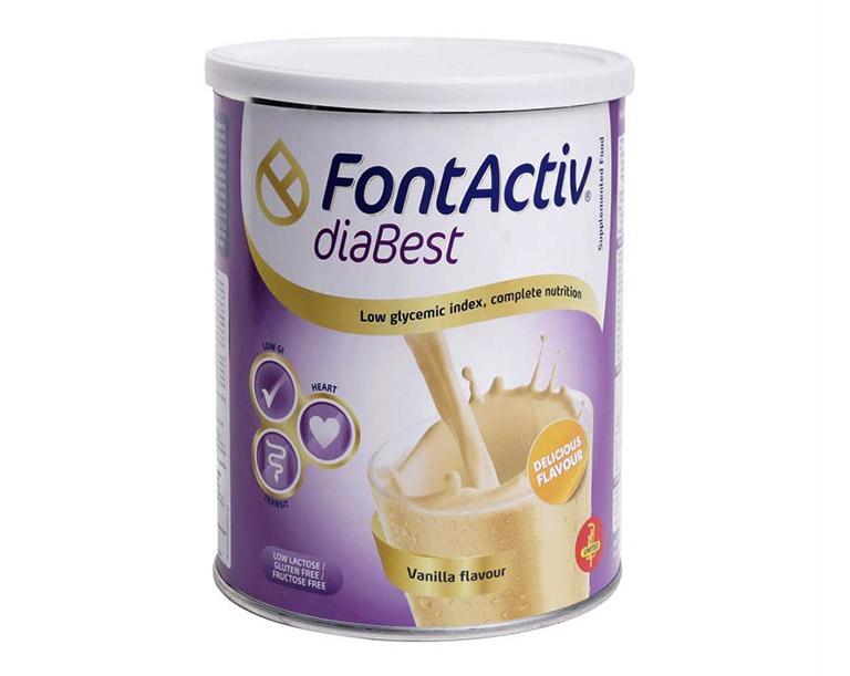 Sữa Fontactiv Diabest dành cho người bị tiểu đường