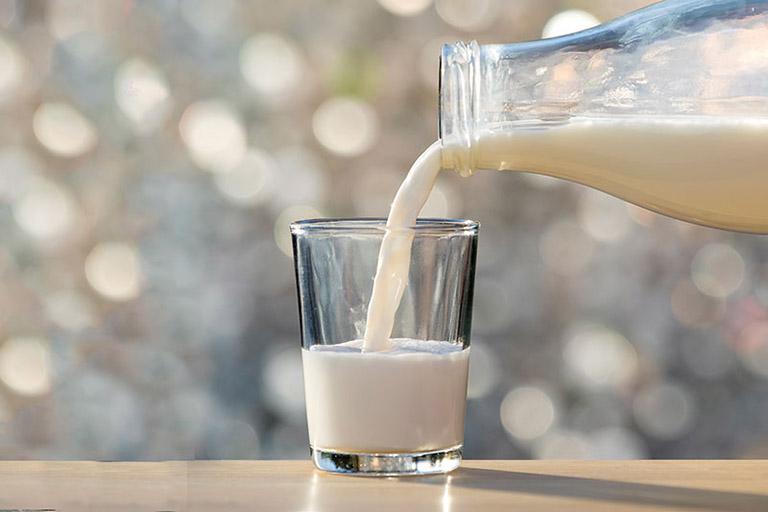 đau dạ dày uống sữa gì