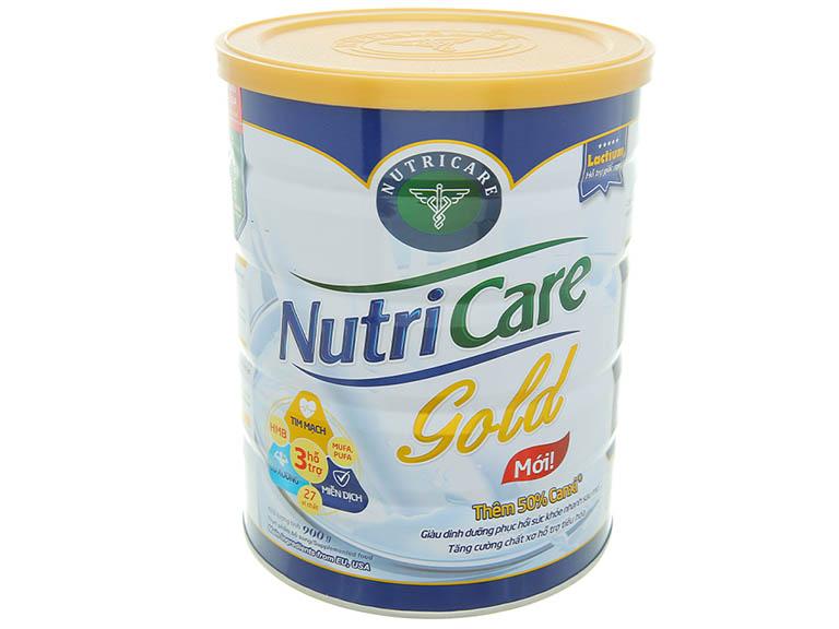 sữa NutriCare Gold tốt cho người gầy ốm