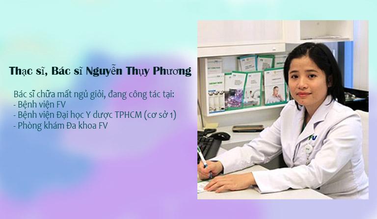 Bác sĩ Nguyễn Thụy Phương chữa mất ngủ