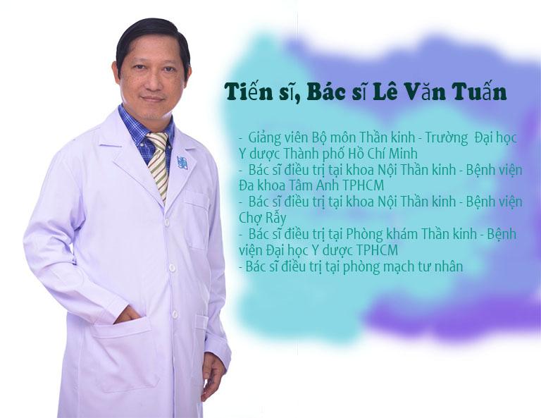 Tiến sĩ, Bác sĩ Lê Văn Tuấn chữa mất ngủ giỏi