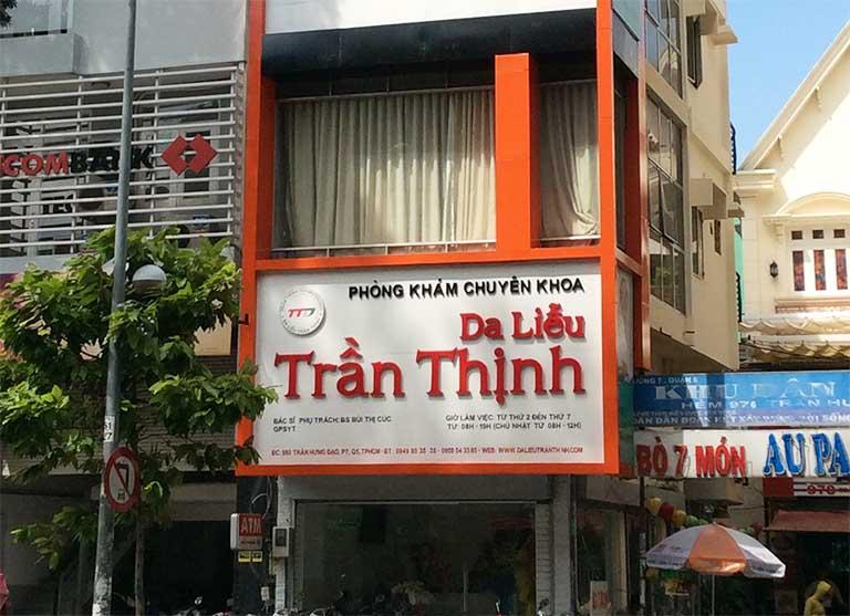 Phòng khám chuyên khoa Da liễu Trần Thịnh