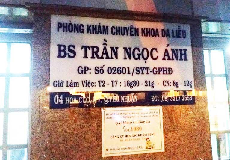Phòng khám chuyên khoa Da liễu - Bác sĩ Trần Ngọc Ánh