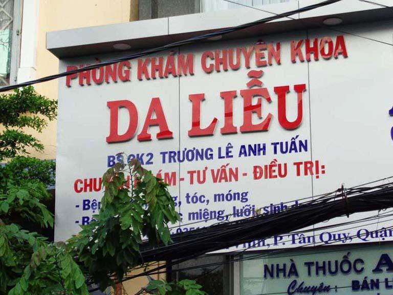 Phòng khám chuyên khoa Da liễu của BS. CKII Trương Lê Anh Tuấn