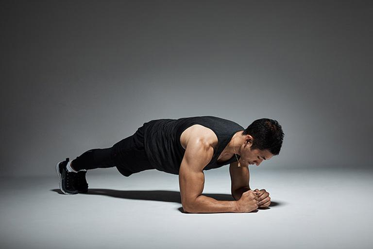 plank tốt cho sức khỏe sinh lý nam