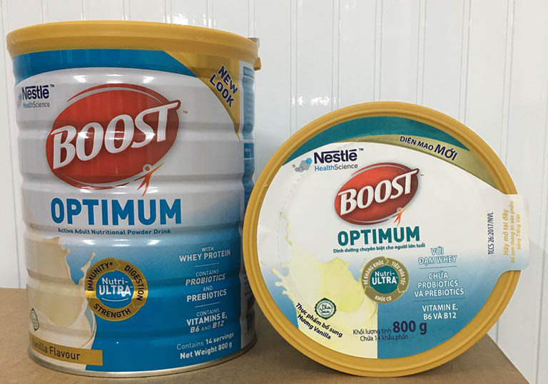 Sữa Boost Optimum
