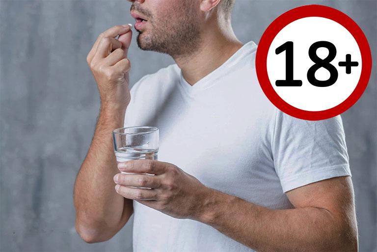 Nam giới trên 18 tuổi mới đủ điều kiện để dùng thuốc cường dương hay các sản phẩm hỗ trợ sinh dục