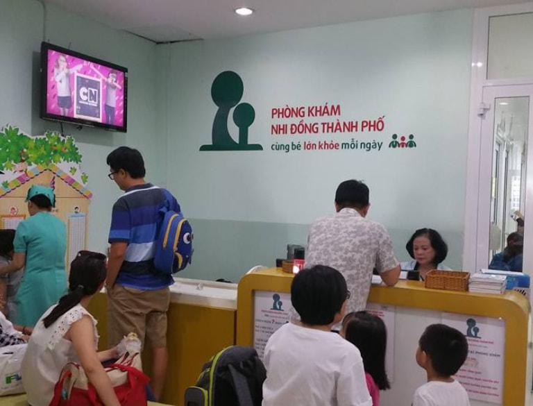 Phòng khám Nhi đồng Thành phố có đội ngũ chuyên gia, y bác sĩ giỏi trong lĩnh vực khám sức khỏe tổng quát cho trẻ nhỏ