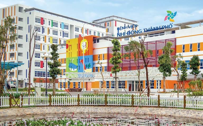 Bệnh viện Nhi đồng Thành phố là một trong số địa chỉ khám tổng quát cho bé uy tín tại TPHCM