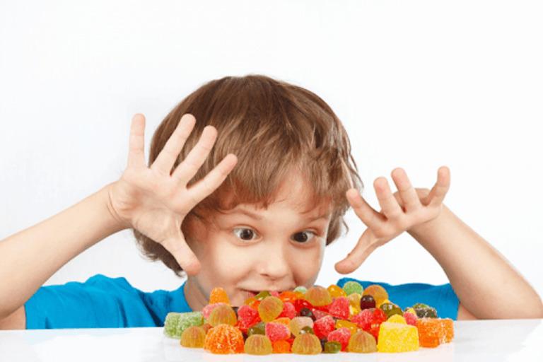 kẹo bổ sung Vitamin C cho bé