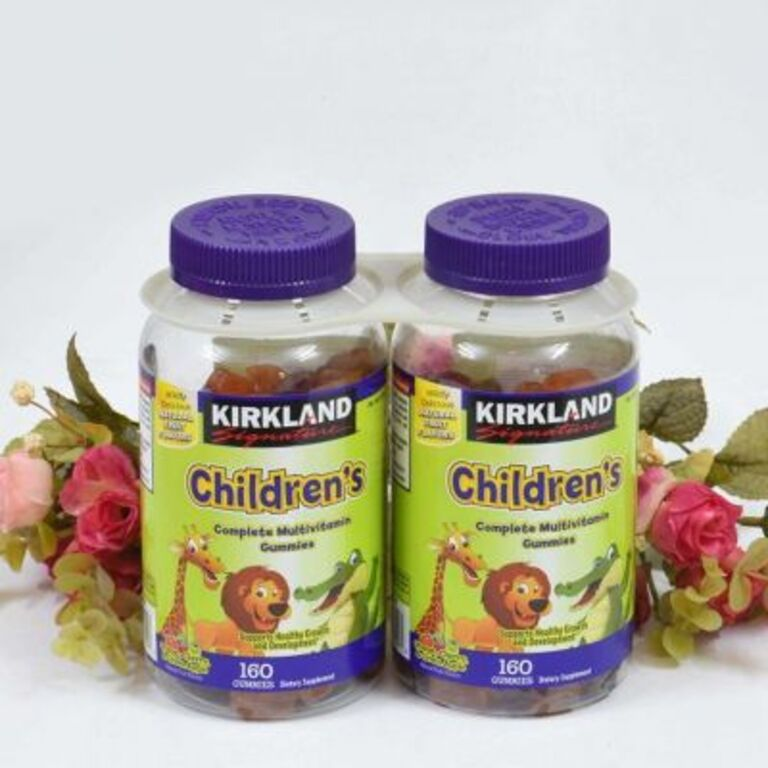 Kẹo bổ sung Vitamin cho bé của Mỹ Kirkland Children's Multivitamin