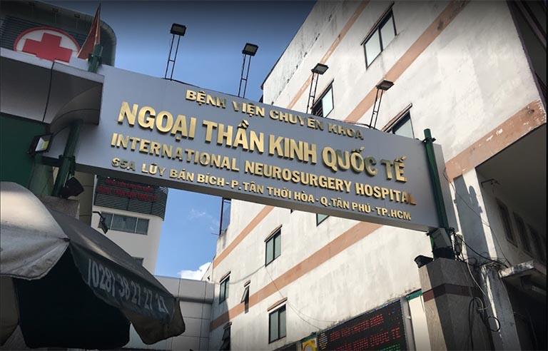 Bệnh viện Chuyên khoa Ngoại Thần kinh Quốc tế là bệnh viện tư nhân chuyên khoa Ngoại Thần kinh đầu tiên ở khu vực phía Nam nước ta