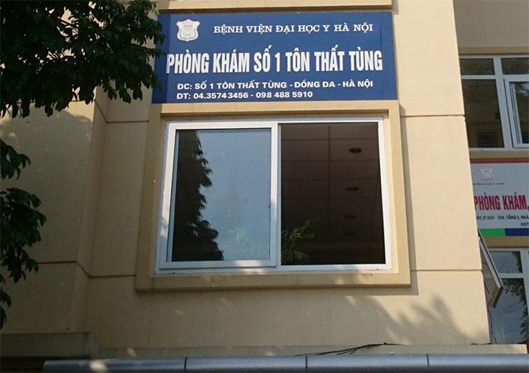 Phòng khám số 1 Tôn Thất Tùng của Bệnh viện Đại học Y Hà Nội luôn triển khai nhiều gói khám chữa bệnh rối loạn tiền đình
