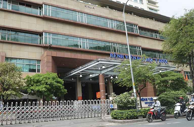 Bệnh viện Đại học Y dược Thành phố Hồ Chí Minh là địa chỉ khám chữa bệnh rối loạn tiền đình uy tín ở khu vực phía Nam nước ta